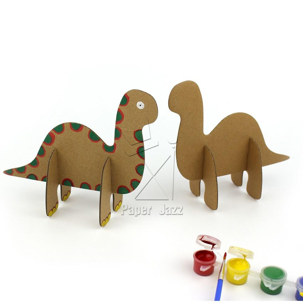 纸箱恐龙制作大全图解
